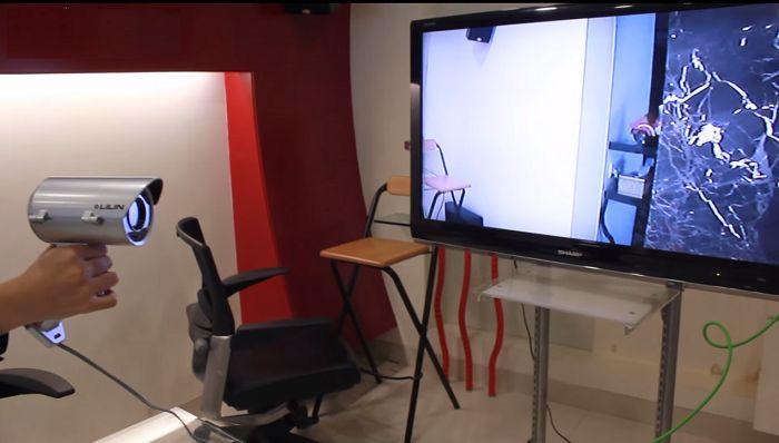 Tivi đã phát được hình ảnh từ camera