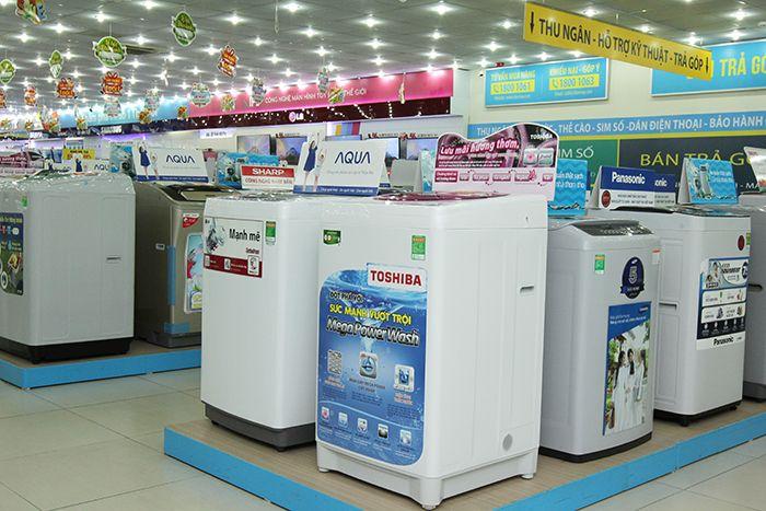 Những mẫu máy giặt tiện ích