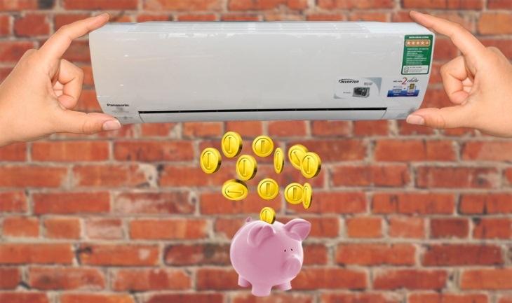 Tiết kiệm đáng kể với công nghệ Inverter