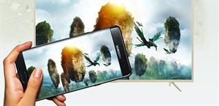 Cách trình chiếu hình ảnh từ điện thoại lên tivi Samsung bằng Smart View