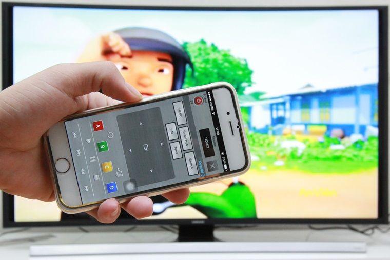 Có thể bắt đầu sử dụng điện thoại để điều khiển tivi