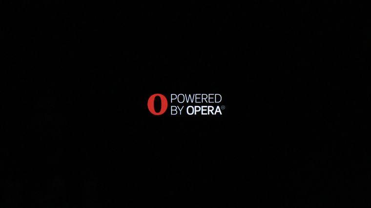 Kho ứng dụng Opera TV Store đang khởi động