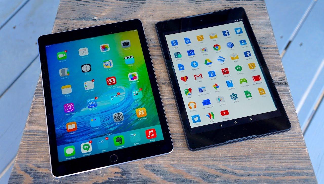 So sánh trực quan giao diện iOS 9 Beta với Android M Developer Preview