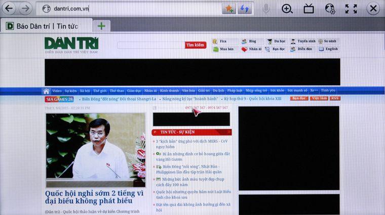 Lướt web để cập nhật tin tức