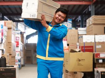 Chính sách giao hàng linh hoạt tại Điện Máy XANH