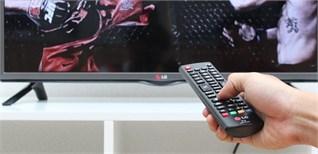 Cách sử dụng điều khiển tivi LG LB551D và LG LB561T