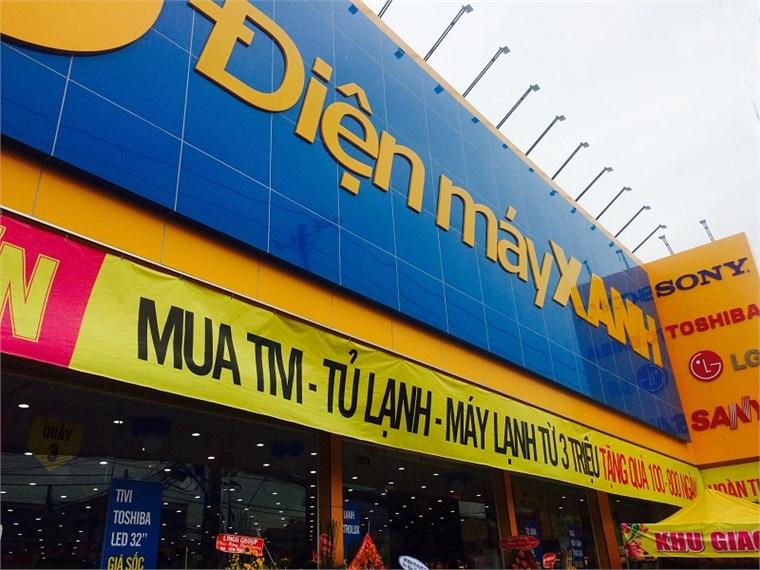 Siêu thị điện máy xanh tại 106-106A-106B-106C Nguyễn Thị Tú, Khu phố 1, Phường Bình Hưng Hòa B, Quận Bình Tân, Thành phố Hồ Chí Minh