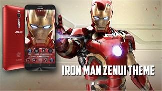 [Nóng] Mang bộ Theme Iron Man trên Galaxy S6 Edge sang Asus Zenfone