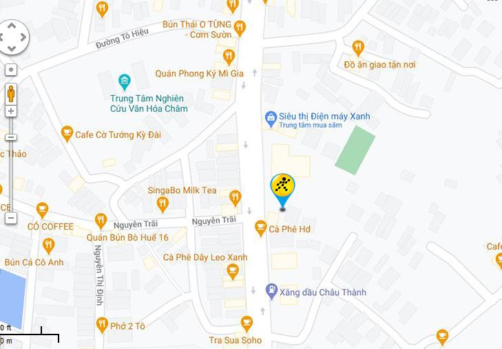 Bản đồ đến siêu thị Điện máy XANH tại 279 Ngô Gia Tự, Khu phố 5, Phường Tấn Tài, Thành phố Phan Rang – Tháp Chàm, Tỉnh Ninh Thuận