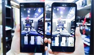 Đọ camera giấu mặt: So sánh khả năng chụp thiếu sáng Asus Zenfone 2 vs Wiko Ridge Fab 4G
