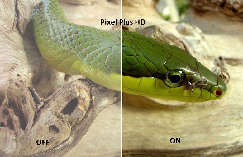 Hình ảnh trung thực, rõ ràng hơn hẳn với Pixel Plus HD