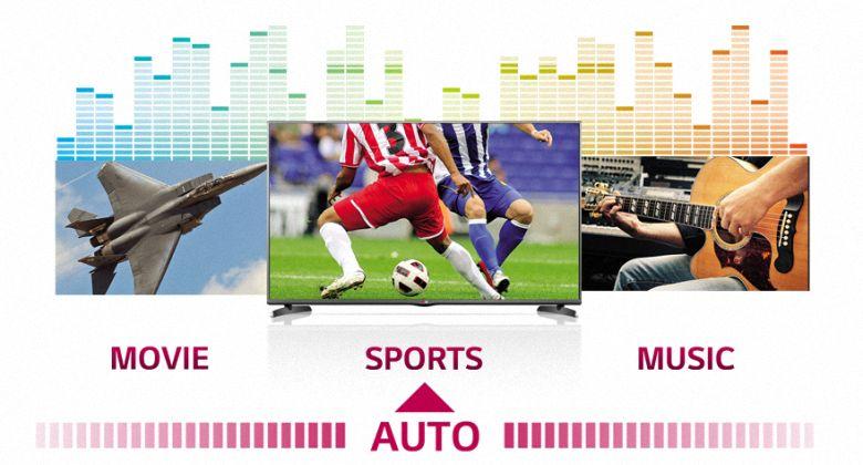 Thưởng thức âm thanh tối ưu cho từng chương trình khác nhau