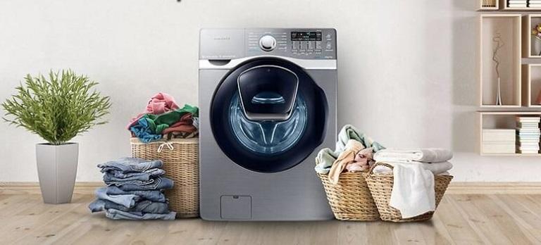 Khối lượng giặt ghi trên máy giặt