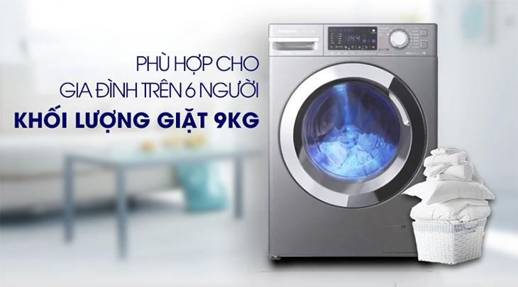 Nên chọn mua máy giặt có khối lượng giặt phù hợp với số lượng thành viên trong gia đình