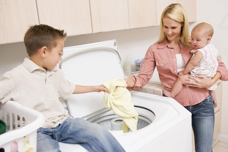 Tùy theo nhu cầu giặt giũ và số lượng thành viên trong gia đình để chọn máy giặt có khối lượng giặt phù hợp