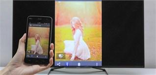 Cách phản chiếu hình ảnh từ điện thoại lên Smart tivi Philips