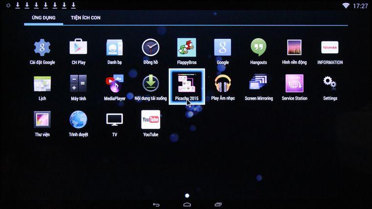 Điều khiển Android tivi Sony bằng điện thoại