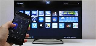 Cách sử dụng điện thoại điều khiển Smart tivi Philips