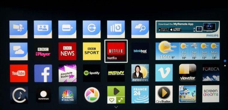 Cách tải ứng dụng trên Smart tivi Philips