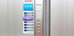 Cách sử dụng bảng điều khiển tủ lạnh Sharp SJ-FB74V 556 lít