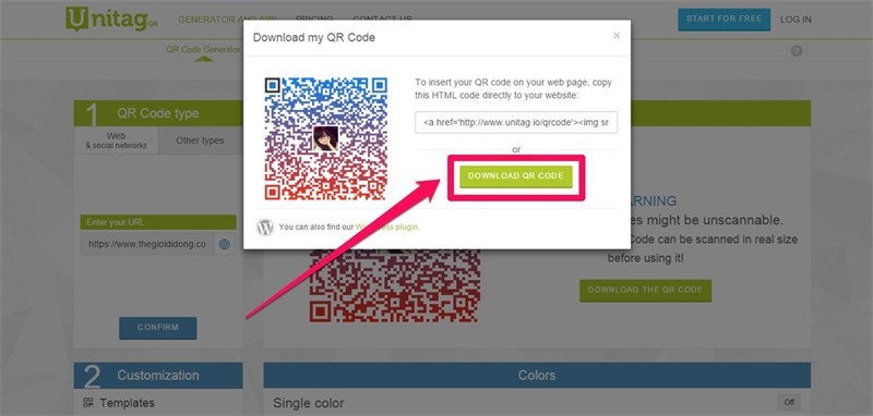 Download The QR Code