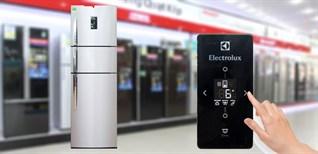 Cách sử dụng bảng điều khiển tủ lạnh Electrolux Inverter 334 lít EME3500BG
