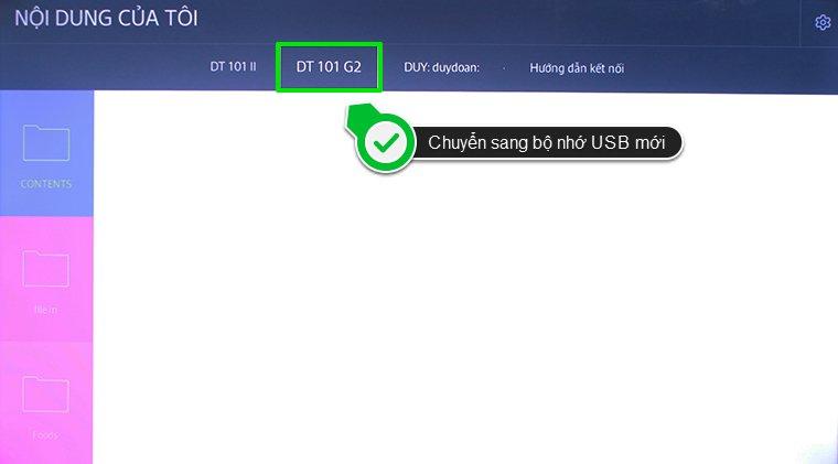 Cách kết nối HUB USB với Smart Tivi Samsung 2015