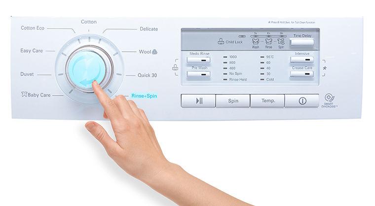 Cách sử dụng bảng điều khiển máy giặt LG WD-8600 7kg