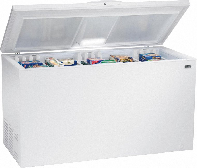 Gas R404 được sử dụng nhiều cho tủ cấp đông