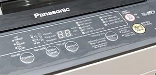 Cách sử dụng bảng điều khiển máy giặt Panasonic NA-F70VB6HDK