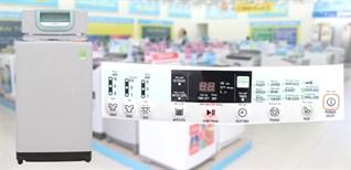 Cách sử dụng bảng điều khiển máy giặt Hitachi SF-80PJ
