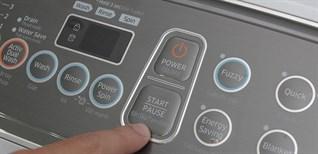 Cách sử dụng bảng điều khiển máy giặt Samsung WA10J5710SG-SV, WA90J5710SG-SV