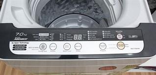 Cách sử dụng bảng điều khiển máy giặt Panasonic NA-F70VH6HRV,NA-F76VH6HRV