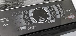 Cách sử dụng bảng điều khiển máy giặt Panasonic NA-F85A/F90A1WRV