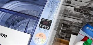 Cách sử dụng bảng điều khiển máy giặt Sanyo ASW-F700Z1T/F800Z1T/U700/U800/U850ZT