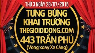 Tưng bừng khai trương siêu thị Thegioididong thứ 2 tại TP. Bạc Liêu