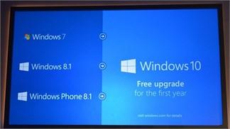 Những điều bạn cần biết khi có ý định nâng cấp Windows 7 lên Windows 10