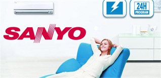 Hướng dẫn sử dụng remote máy lạnh Sanyo chi tiết nhất