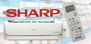 Cách điều khiển remote máy lạnh Sharp dòng J-tech inverter