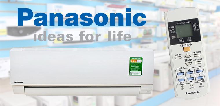 Cách sử dụng remote máy lạnh Panasonic dòng CU/CS-KC Series