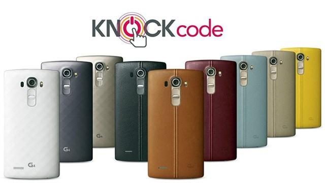 Cách kích hoạt và thiết lập tính năng Knock Code trên LG G4