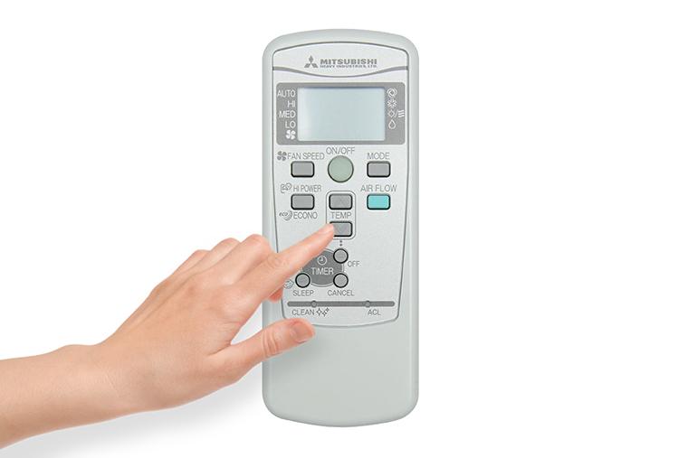 Cách sử dụng điều khiển máy lạnh Mitsubishi Heavy SRK09CMP