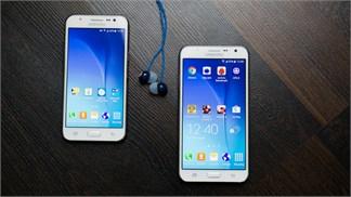So sánh cấu hình bộ đôi Galaxy chuyên selfie, camera trước trang bị đèn flash