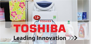 Bảng mã lỗi trên máy giặt Toshiba, nguyên nhân và cách khắc phục