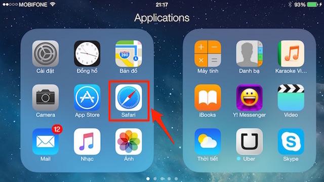 Safari trên iOS 8 - nhiều món hay hơn bạn tưởng