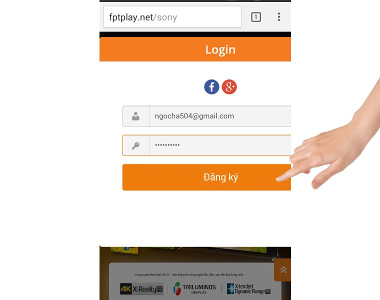 Đăng ký nếu bạn chưa có tài khoản
