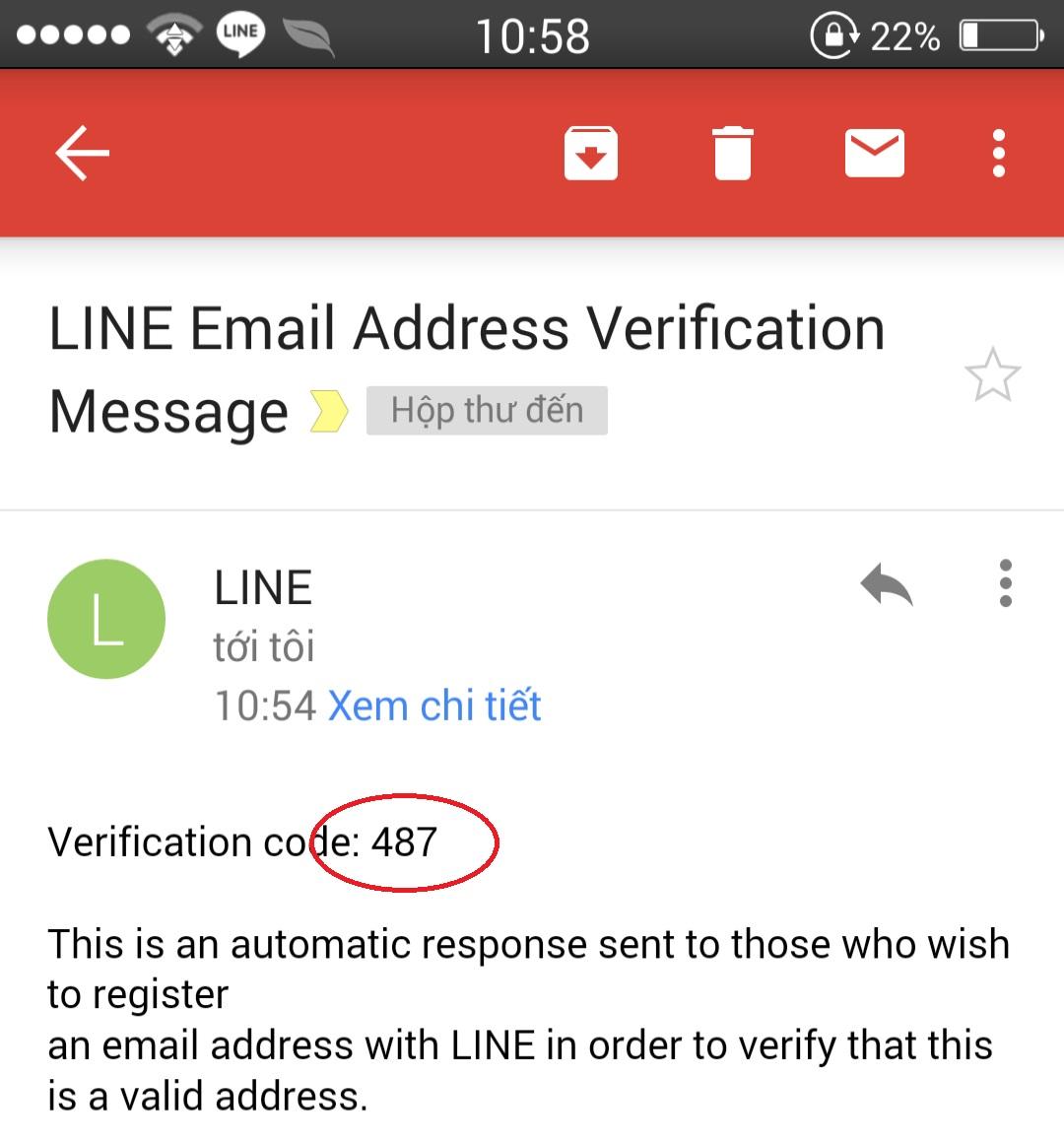 Tạo tài khoản trên Line 4