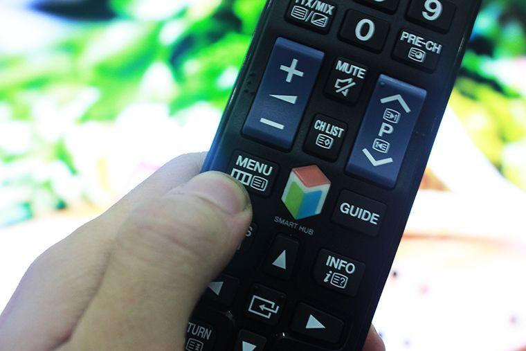 Nhấn menu để vào giao diện cài đặt