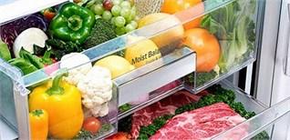 Ngăn cân bằng độ ẩm trên tủ lạnh LG