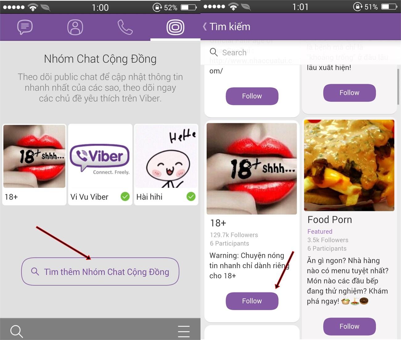 Cách sử dụng Public Chats trên Viber 2
